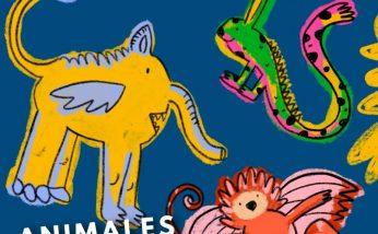 galeria virtual para la infancia, taller on line, animales invitados