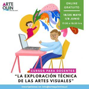 cursos para docentes la exploracion técnica de las artes visuales