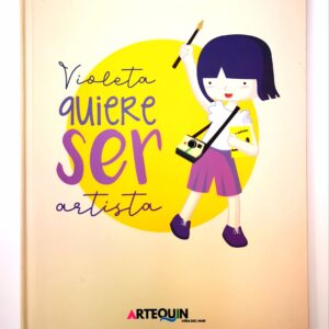 museo artequin viña libro violeta quiere ser artista